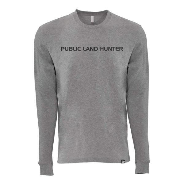 NEXT RIDGE APPAREL NEXT RIDGE PUBLIC LAND HUNTER L/S T-SHIRT
