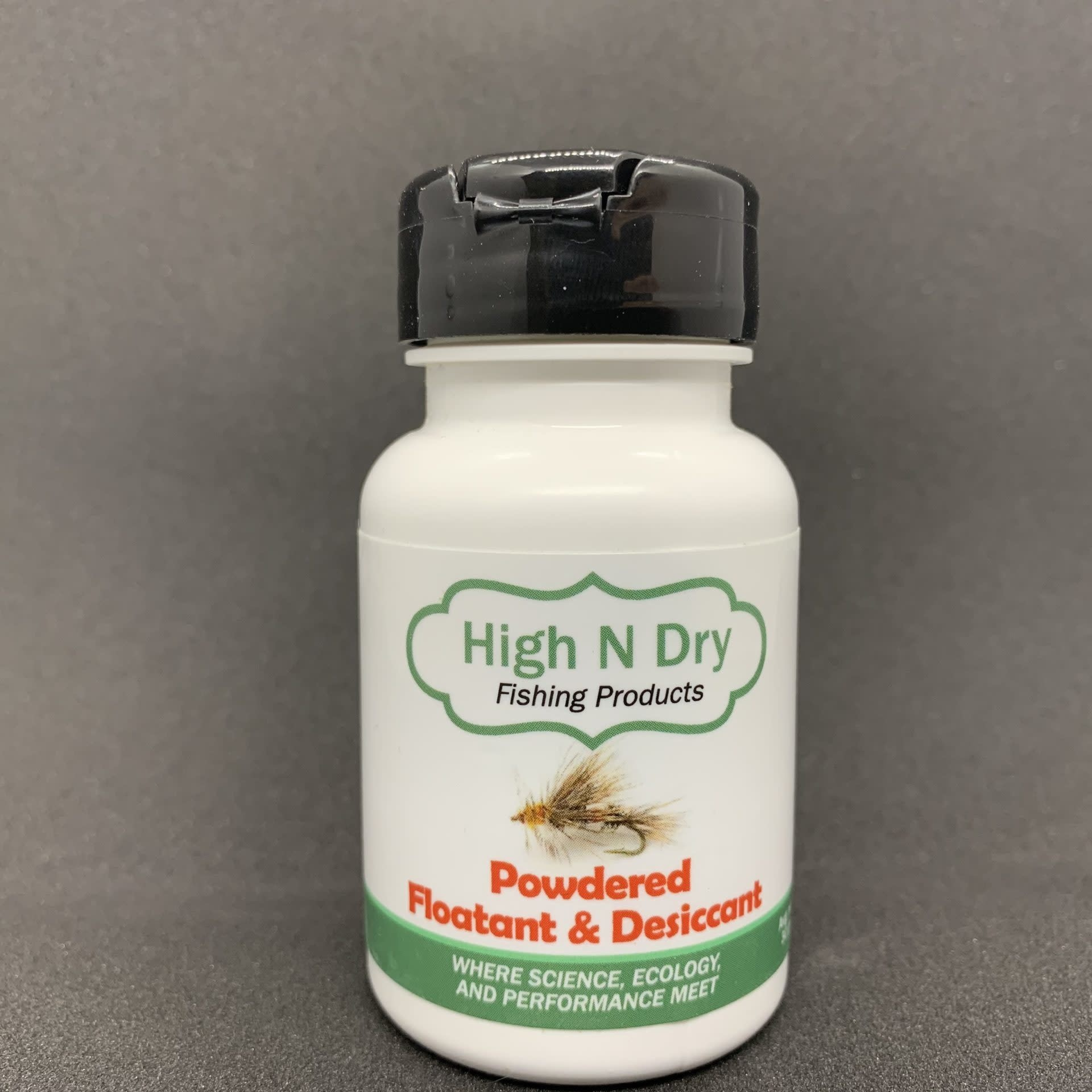 HIGH N DRY FISHING PRODUCTS HIGH N DRY POWDERED FLOATANT & DESICCANT [10/case]