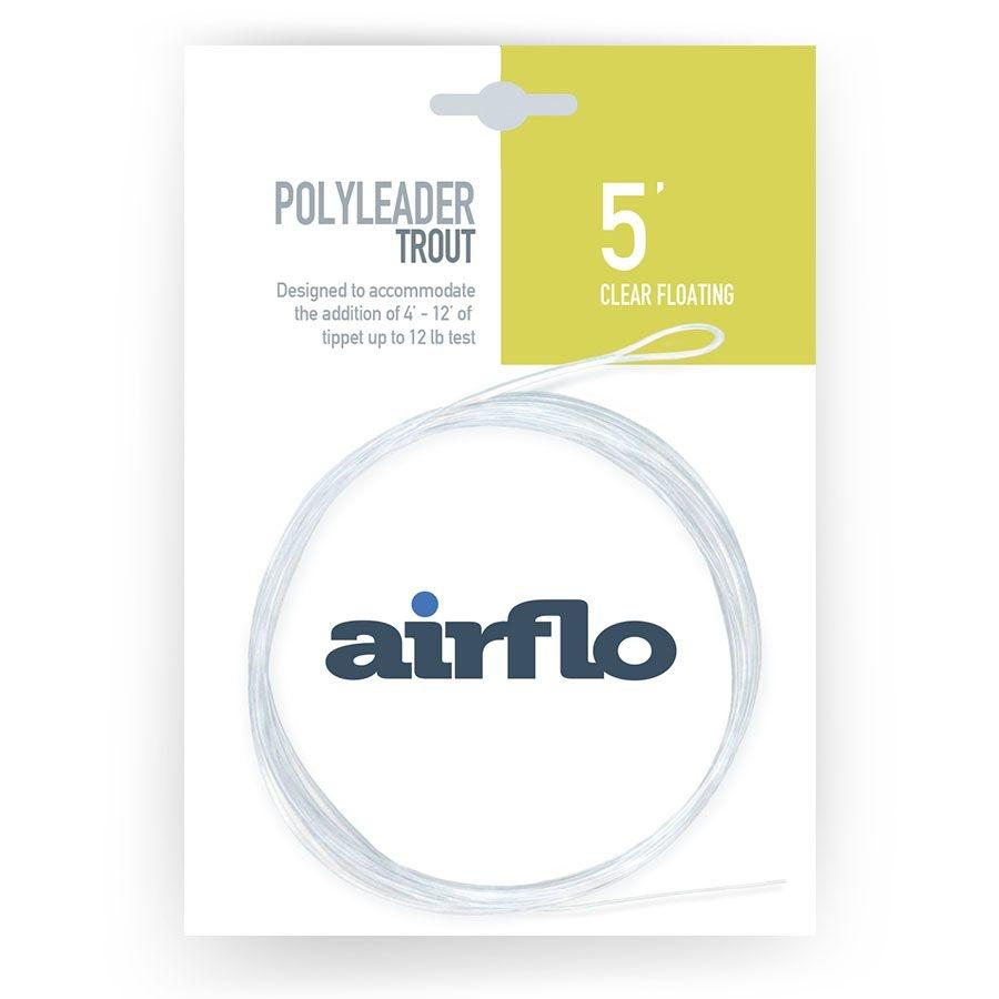 AIRFLO AIRFLO POLYLEADER TROUT - 5'