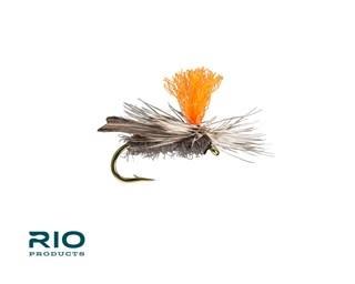 RIO RIO Hi-Vis Caddis Gray S14 [Single]