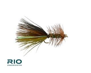 RIO RIO Thin Mint Bugger TB Olive/Brown/Black S6  [Single]