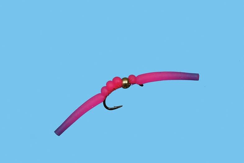 SOLITUDE FLY COMPANY SOLITUDE BH Gummy Worm Pink S12 [Single]
