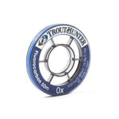 TROUTHUNTER TH Fluorocarbon Tippet 3X (50M)