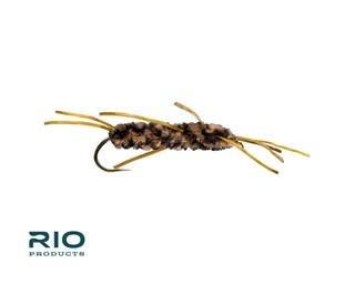 RIO RIO RUBBER LEGS Coffee/Black S10  [Single]