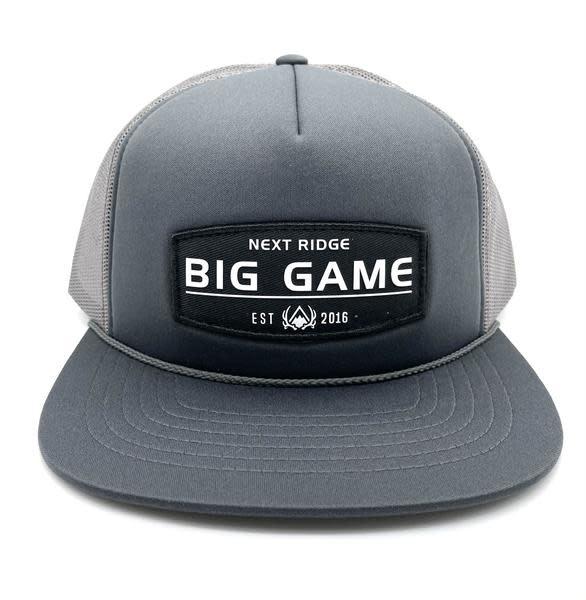 NEXT RIDGE APPAREL NEXT RIDGE BIG GAME HAT Foamie Grey/Black