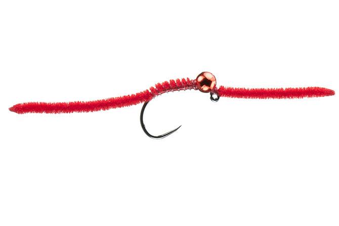 MFC MFC Jig San Juan Worm Red S10 3.8 mm   [Single]