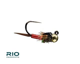 RIO RIO CJ JIG, GOLD TB  Red S14   [Single]