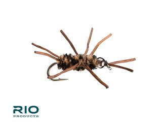 RIO RIO Rubber Legs TB Coffee/Black S10 [Single]