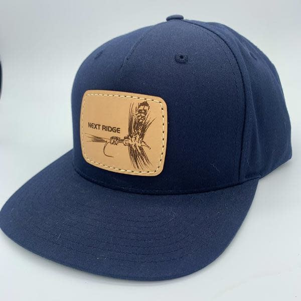 NEXT RIDGE APPAREL NEXT RIDGE - TIGHT LINES HAT - R255 - Dry Fly Leather Patch
