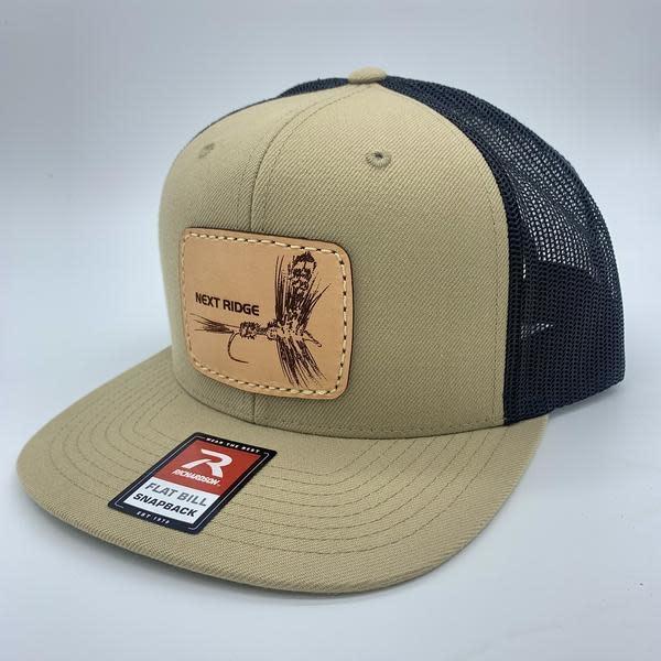 NEXT RIDGE APPAREL NEXT RIDGE - TIGHT LINES HAT- R511- Leather Patch