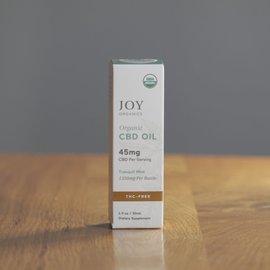 Joy Organics JO CBD Oil 1350mg Tranquil Mint