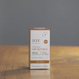 Joy Organics JO CBD Soft-Gels w/ Curcumin 25mg