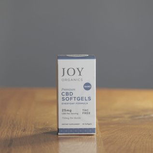Joy Organics Premium CBD Softgels