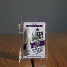 G.I. Naturals GI D8 vapes Grape