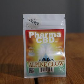 PharmaCBD Flower Alpine Glow 1g