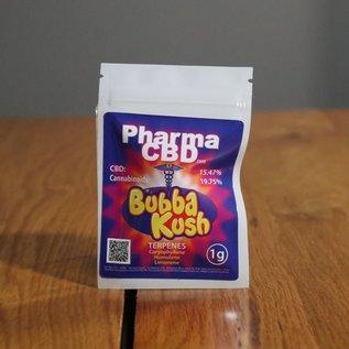PharmaCBD Flower Bubba Kush 1g