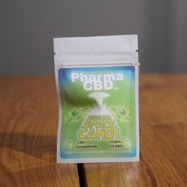 PharmaCBD Flower Sour Space Candy 1g