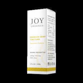 Joy Organics JO CBD Tinctures Lemon 450mg
