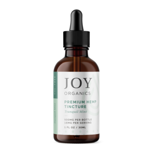 Joy Organics JO CBD Tinctures Mint 450mg