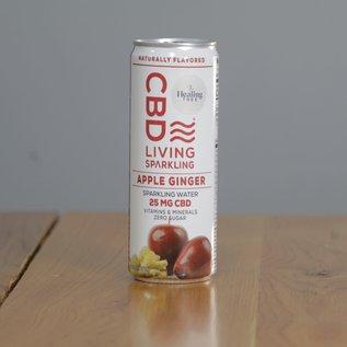 CBDL Sparkling Water Apple Ginger