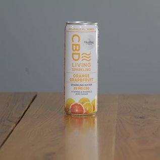 CBDL Sparkling Water Orange Grapefruit