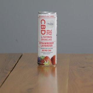 CBDL Sparkling Water Strawberry Lavender
