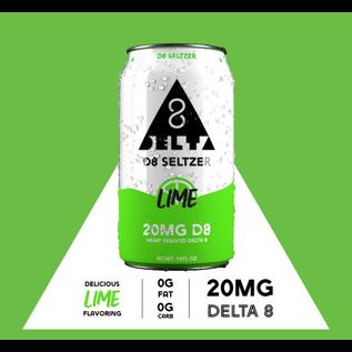 D8 Seltzer D8 Seltzer Lime - Single