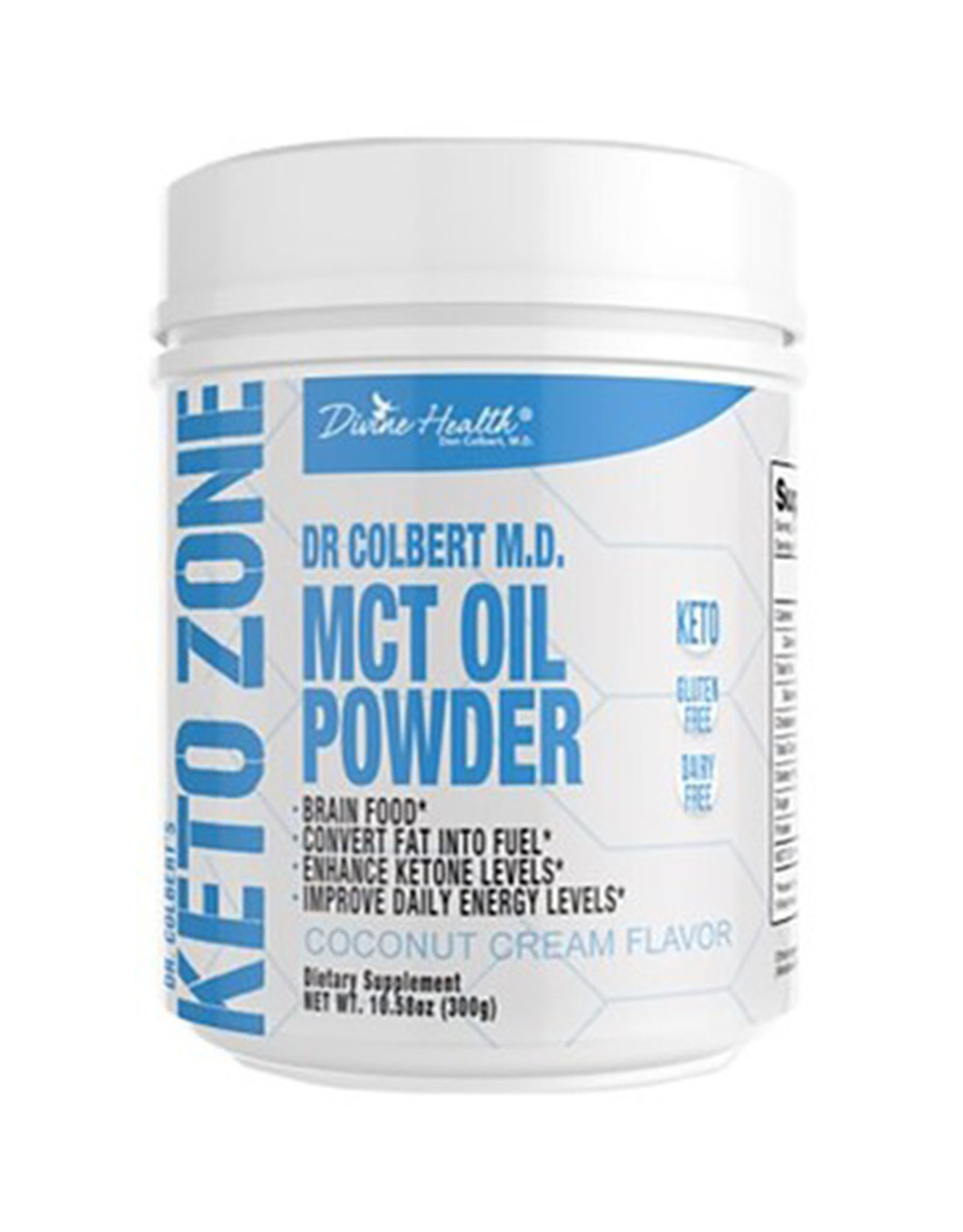 Divine Health Divine Health - MCT Oil Powder, Coconut Cream