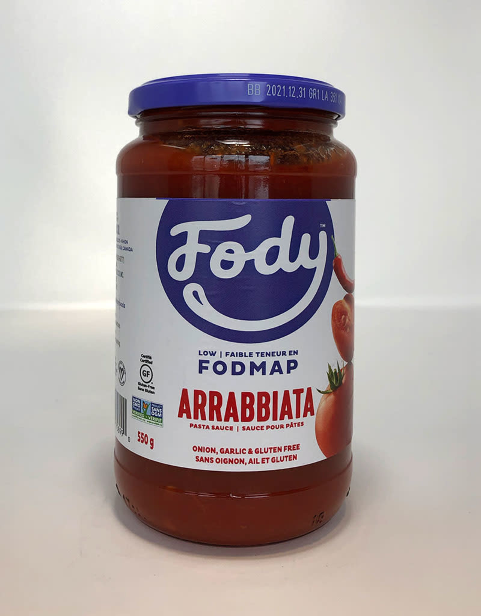 Fody Food Co. Fody - Sauce, Arrabbiata