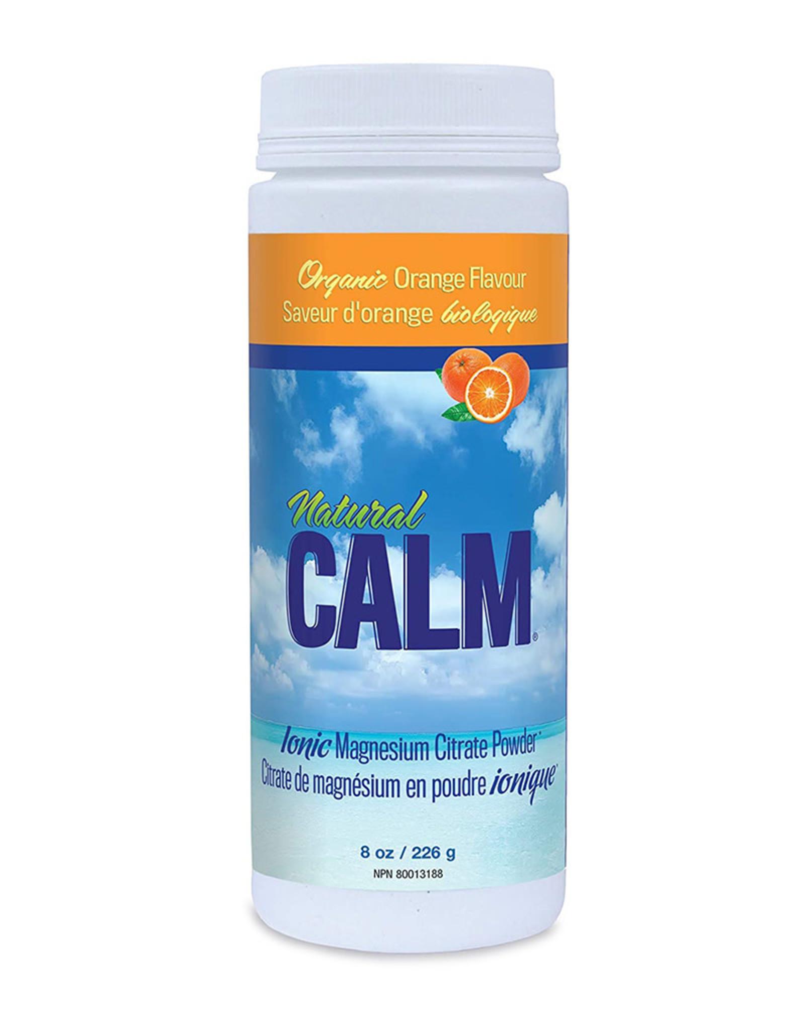 Natural Calm Canada Natural Calm - Magnesium, Orange (226g)