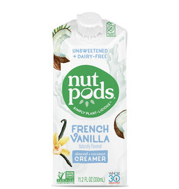 Nut Pods Nutpods - Unsweetened Dairy-Free Creamer, French Vanilla (330ml)