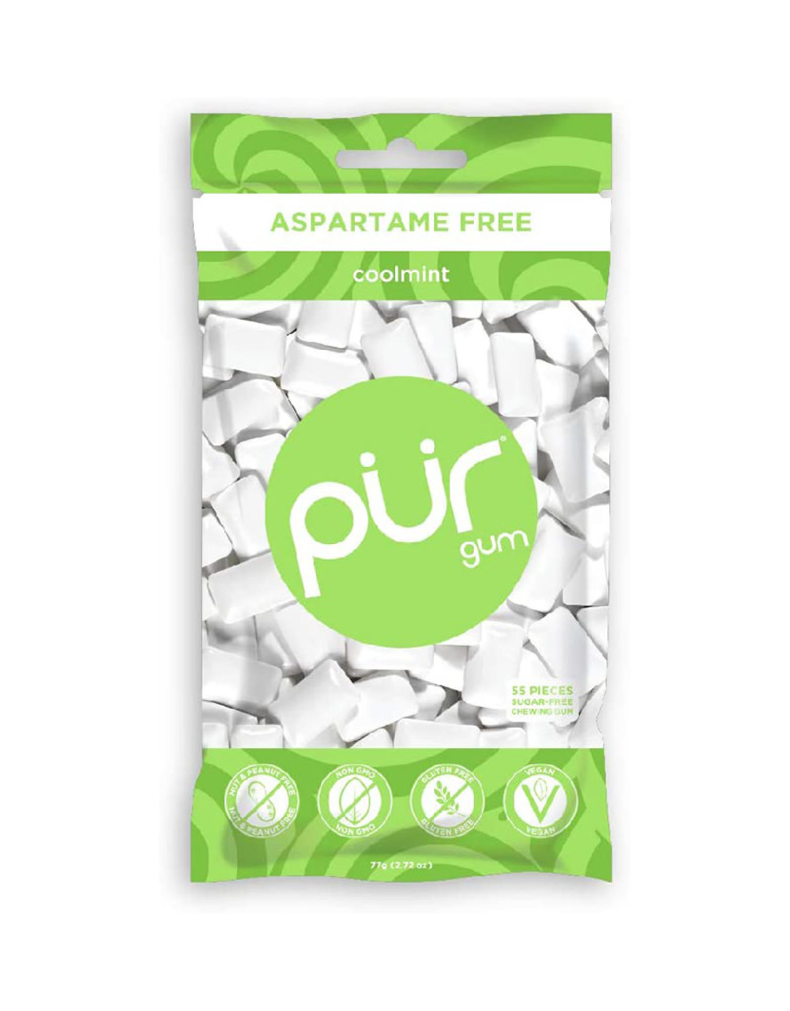 PUR PUR - Gum, Coolmint (Bag)