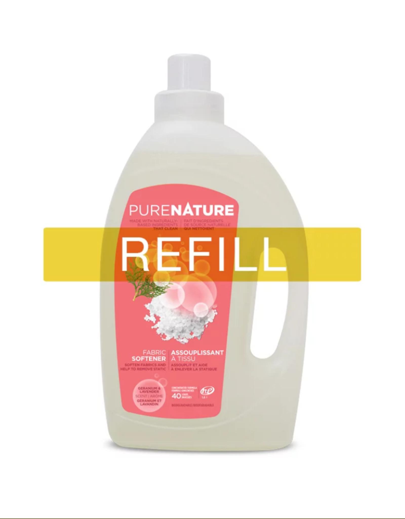 Purenature Purenature - Fabric Softener, Geranium & Lavender - REFILL