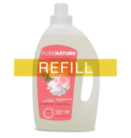Purenature Purenature - Fabric Softener, Geranium & Lavender - REFILL
