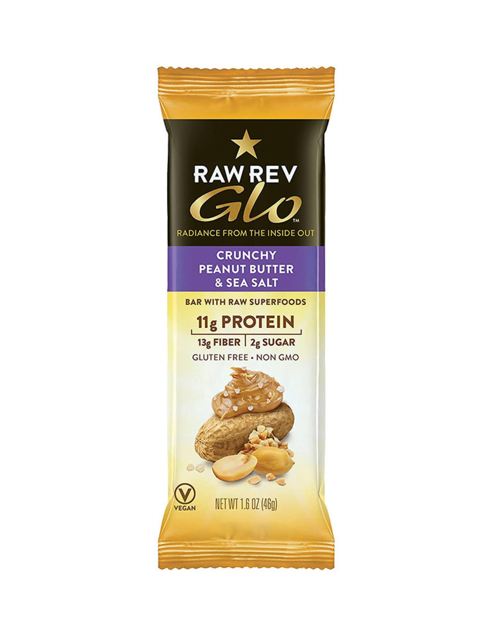 RAW Revolution Raw Revolution - Glo, Crunchy Peanut Butter & Sea Salt