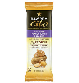RAW Revolution Raw Revolution - Glo, Crunchy Peanut Butter & Sea Salt