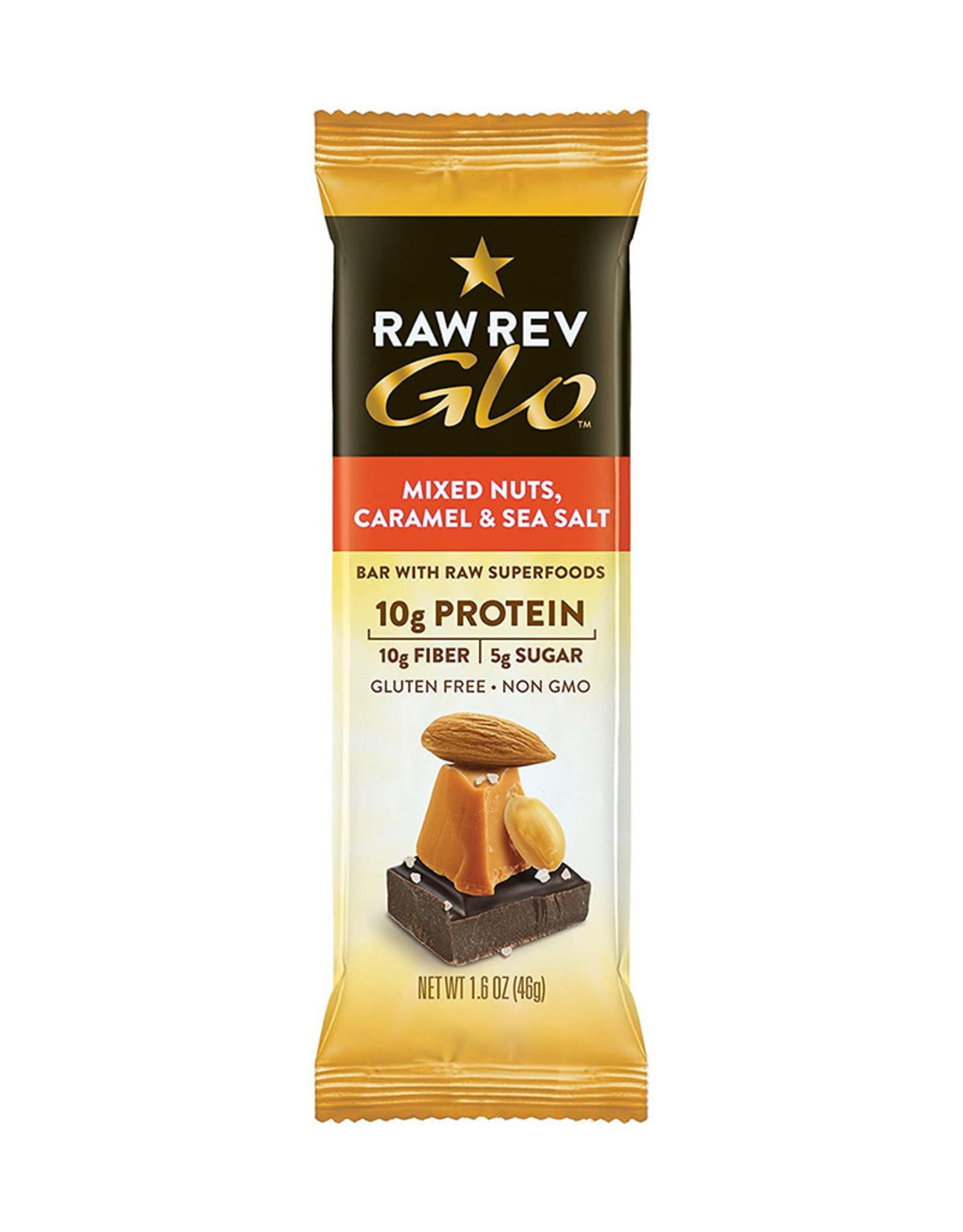 RAW Revolution Raw Revolution - Glo, Mixed Nuts Caramel & Sea Salt