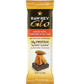 RAW Revolution Raw Revolution - Glo, Mixed Nuts Caramel & Sea Salt