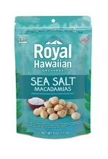 Royal Hawaiian Orchards Royal Hawaiian Orchards - Macadamia Nuts, Sea Salt (113g)