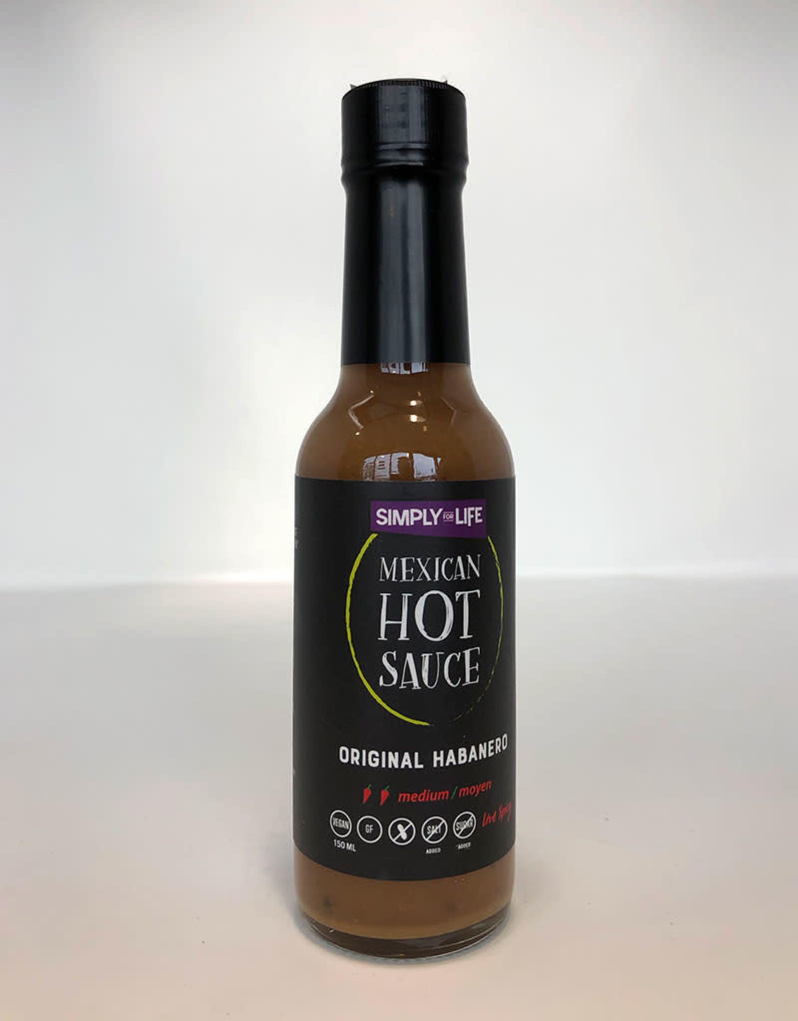 Simply For Life SFL - Hot Sauce, Original Habanero