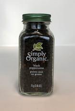 Simply Organic Simply Organic - Black Peppercorn (75g)
