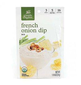 Simply Organic Simply Organic - Seasoning Mix, French Onion Dip