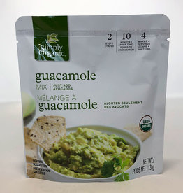 Simply Organic Simply Organic - Seasoning Mix, Guacamole Dip
