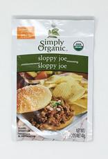 Simply Organic Simply Organic - Seasoning Mix, Sloppy Joe (40g)