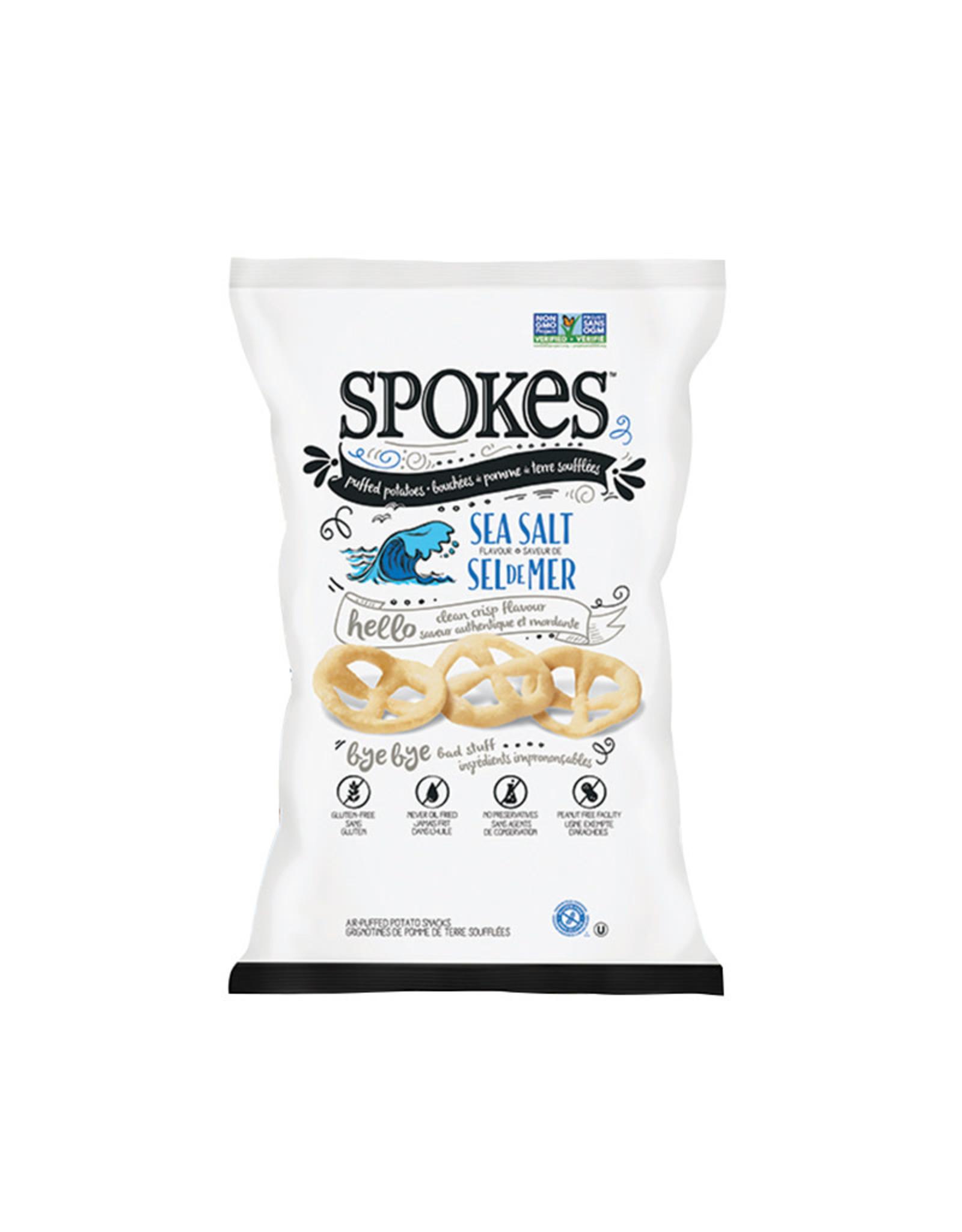 Spokes Spokes - Puffed Potatoes, Sea Salt (80g)