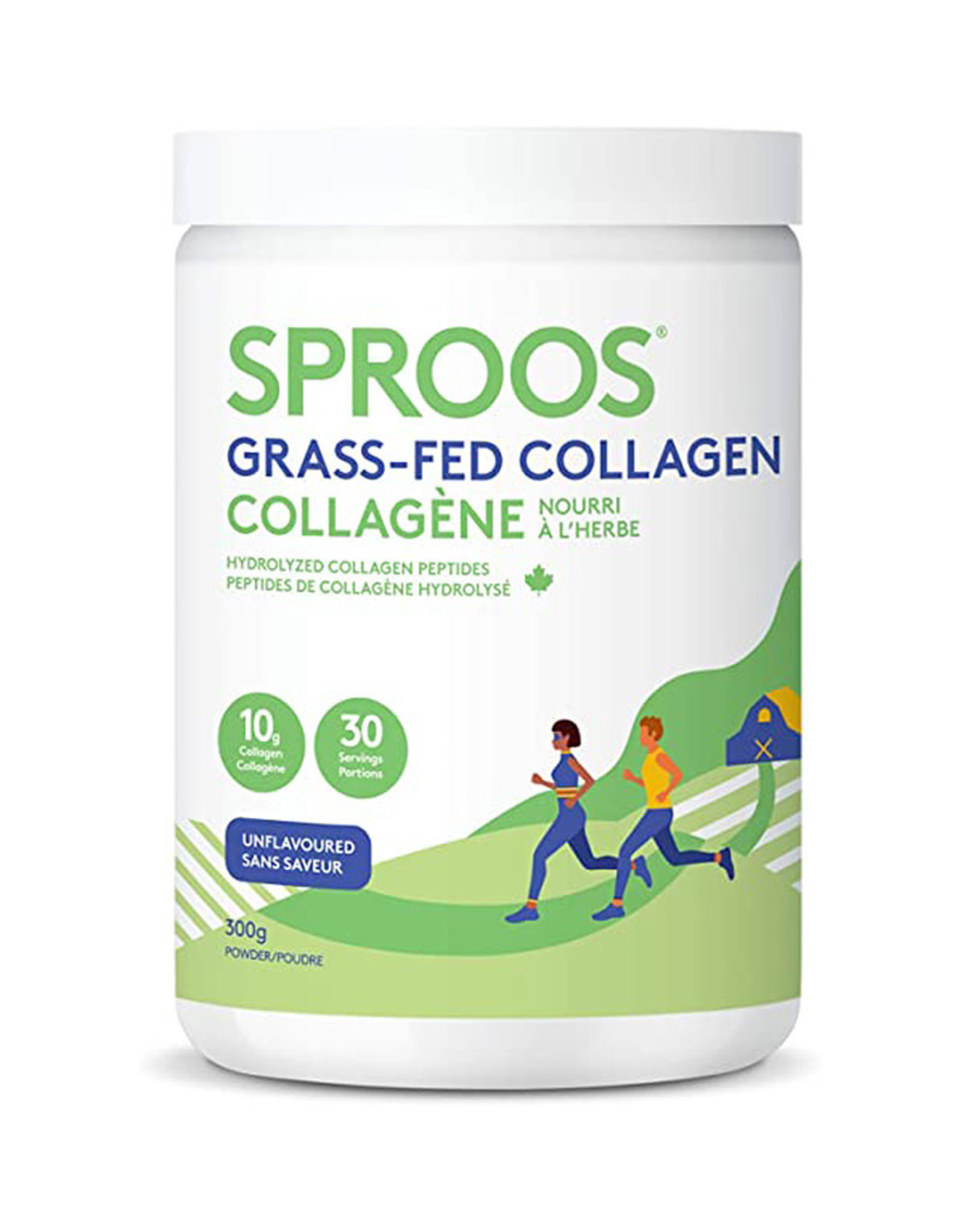 Sproos Sproos - Grass Fed Collagen, Unflavoured (300g)