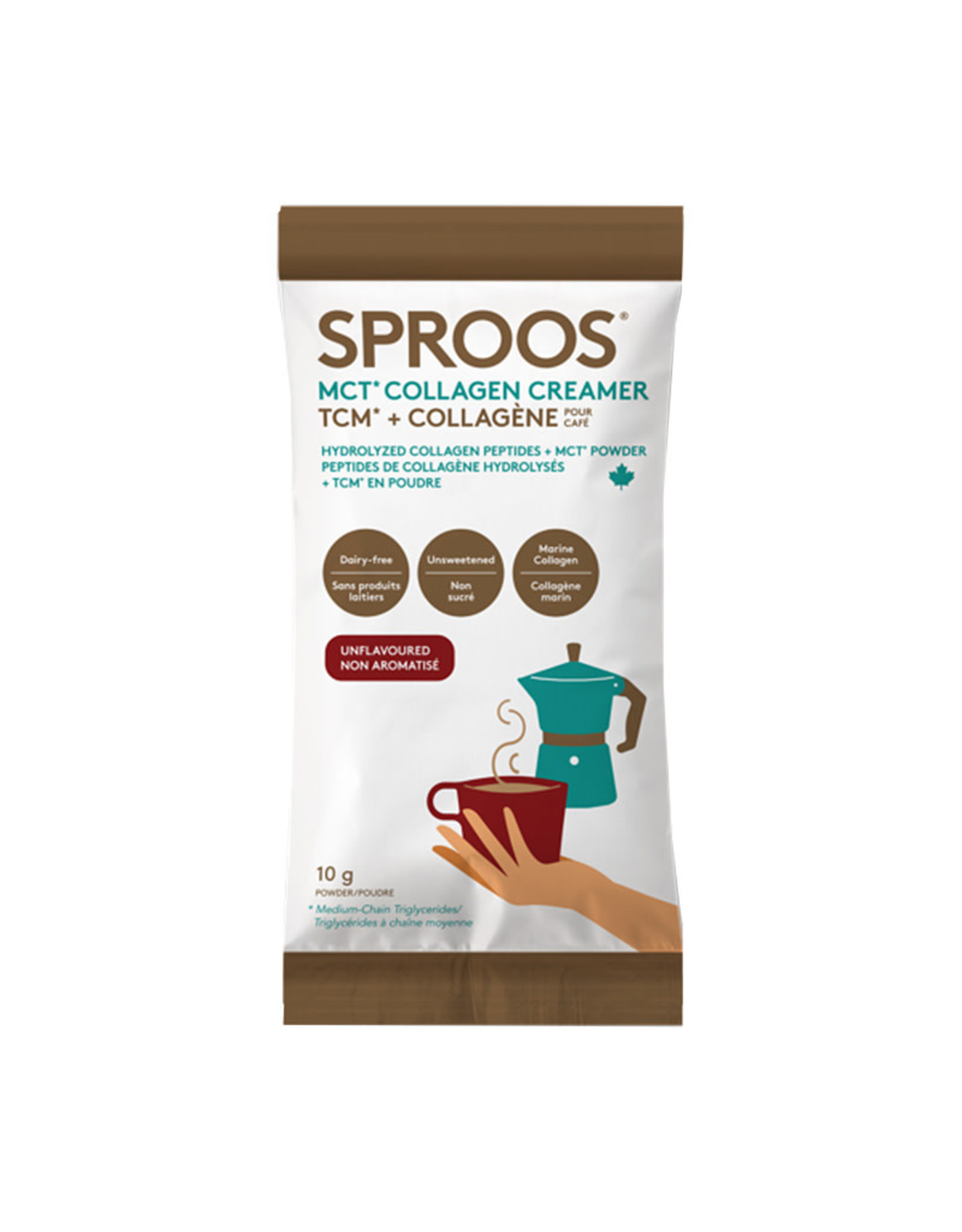 Sproos Sproos - MCT Collagen, Creamer (10g)