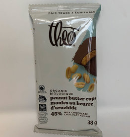 Theo Theo - Milk Chocolate, Peanut Butter Cups (36g)