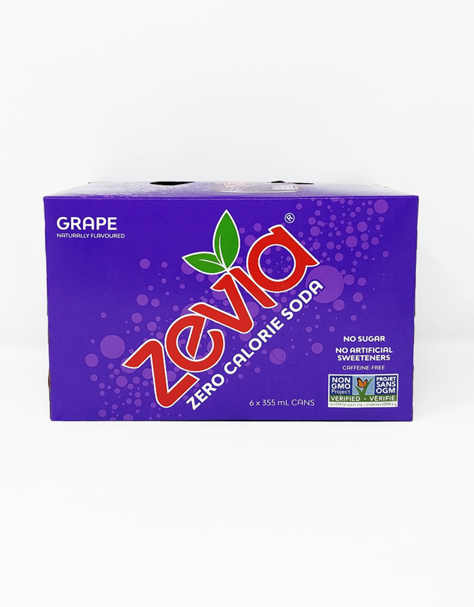 Zevia Soda Zevia - Soda, Grape (6pk)