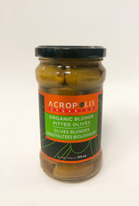 Acropolis Acropolis - Organic Pitted Blond Olives (315ml)